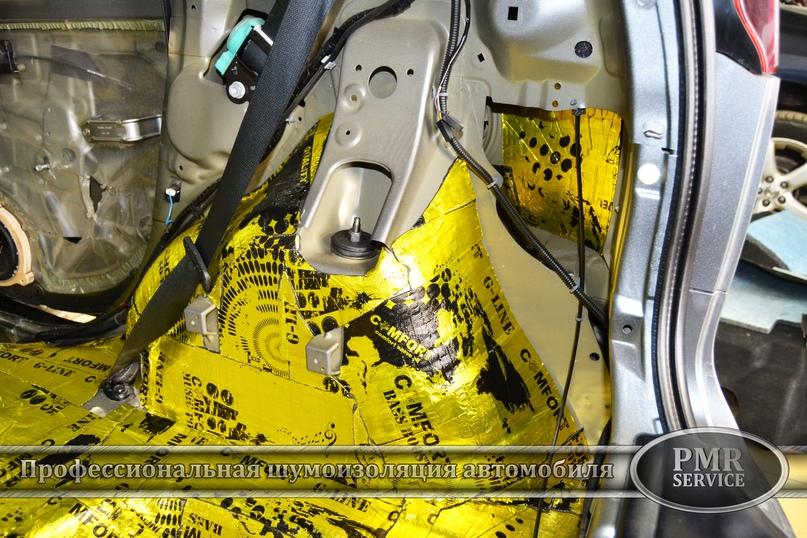 Шумоизоляция Nissan Note, изображение №12
