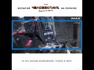 Человек-паук: Вдали от дома  с 4 июля в кинотеатрах IMAX