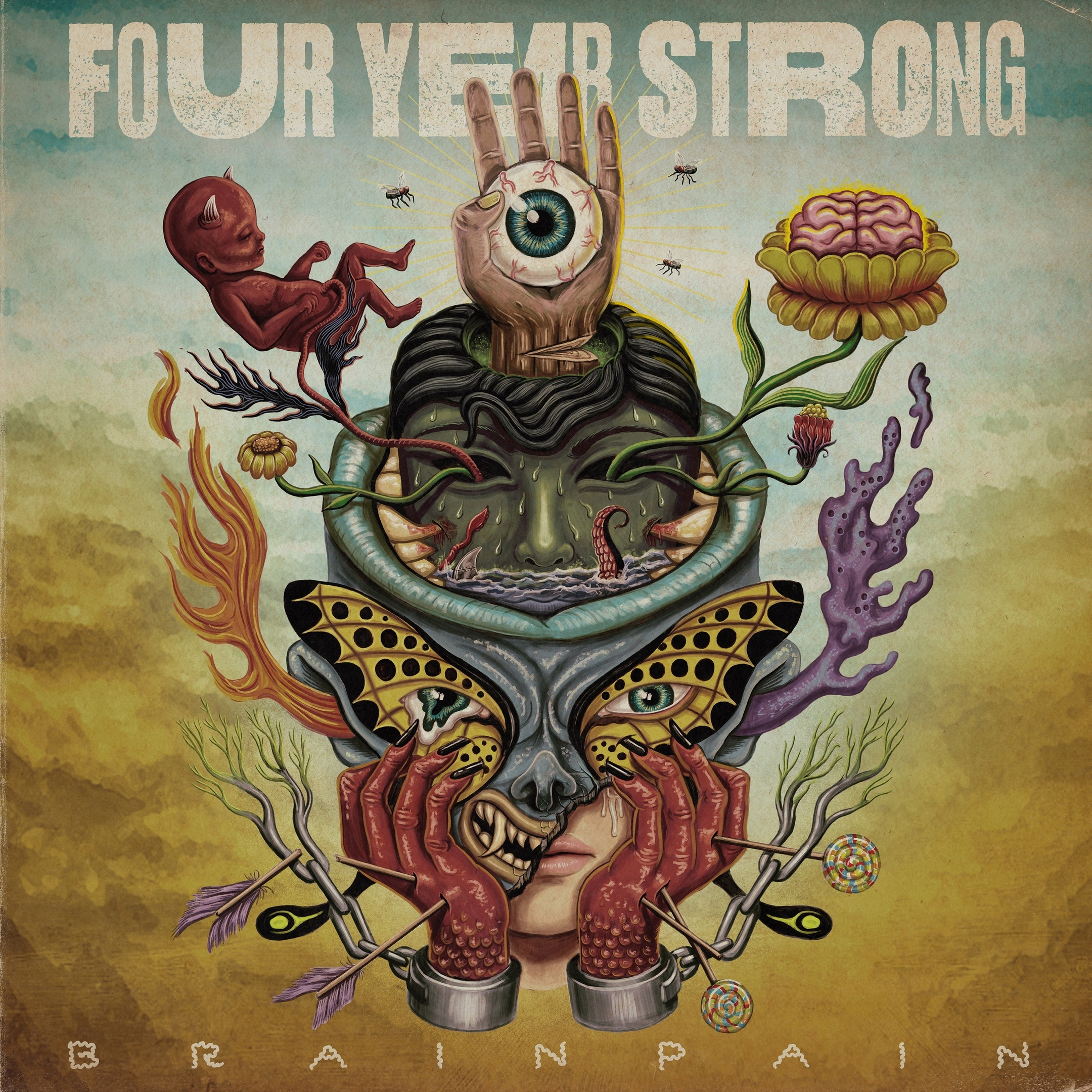 Four Year Strong - Brain Pain (2020)