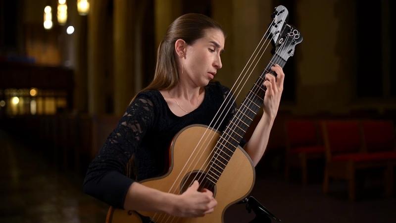 Guitarist Petra Poláčková performs Tombeau sur la Mort de M Comte d'Logy by Sylvius Leopold Weiss