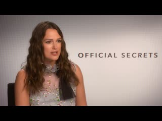 Official secrets keira knightley interview i hd i ifc films