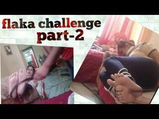 Traditional falaka challenge ll  feet torture challenge😭😭😭ll feet tickling ll
