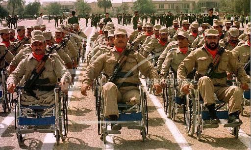 Ветераны иракской армии, получившие увечья во время ирано-иракской войны (22 сентября 1980 года 20 августа 1988 года