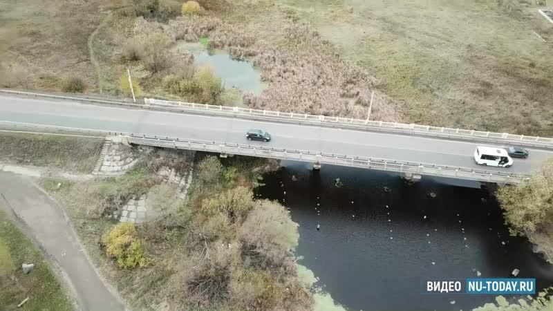 В Новой Усмани на время реконструкции моста через Усманку построят временную переправу
