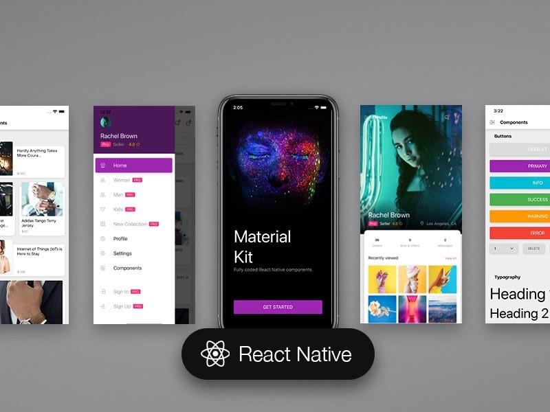 Лучшие шаблоны для мобильных приложений и темы 2019 года, изображение №7