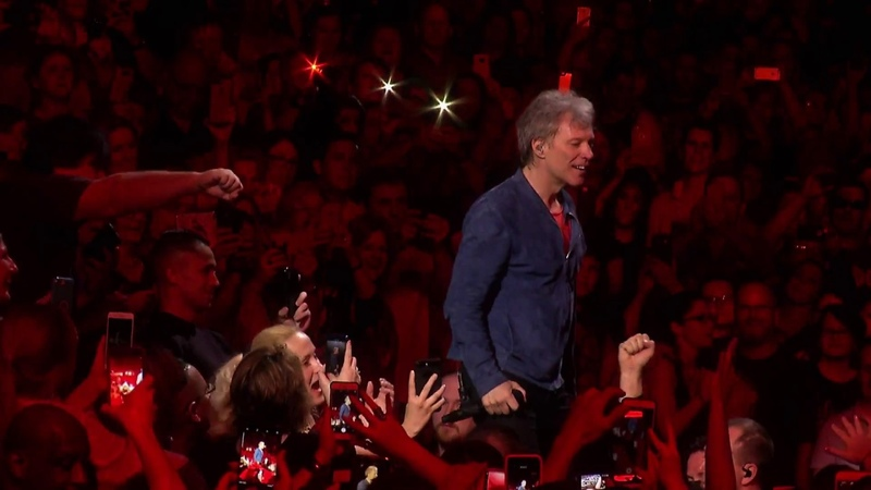 Bon Jovi Bed of Roses This House Is Not For Sale Tour in Philadelphia 2018