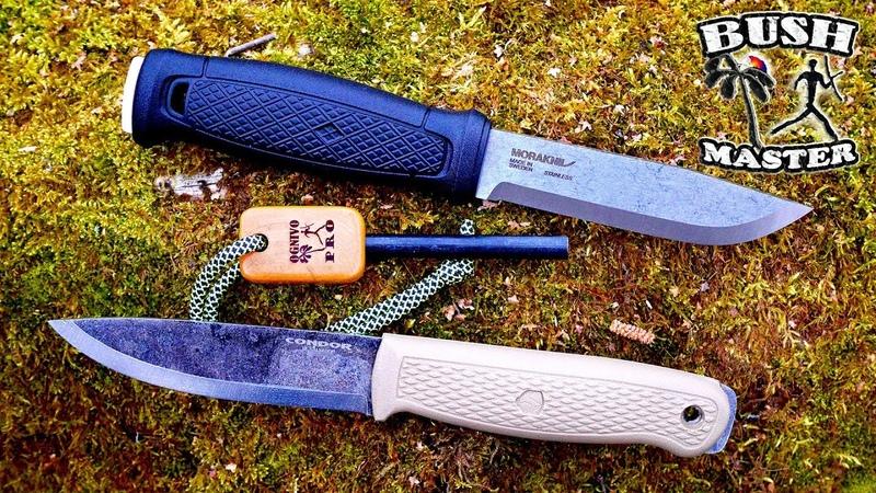 Нож Condor Terrasaur против Mora Garberg Condor Terrasaur vs Mora Garberg