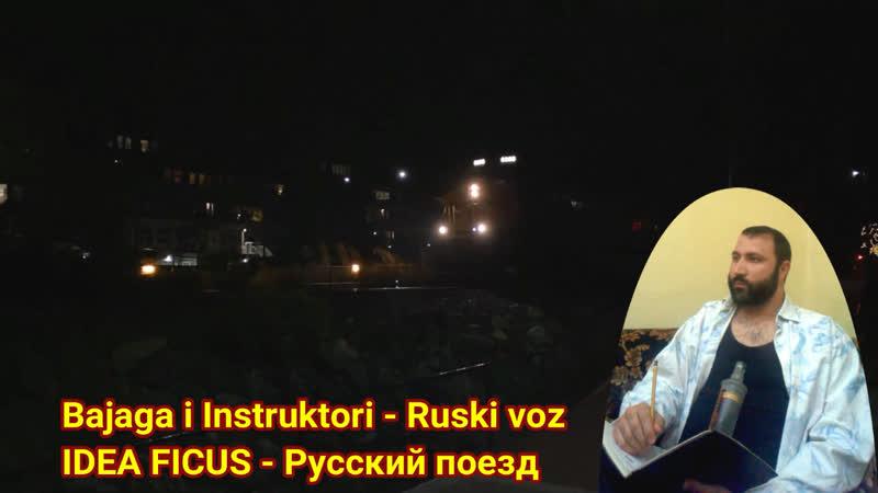 IDEA FICUS Русский поезд Bajaga i Instruktori Ruski voz COVER by Prints Tmy Printsessa Tmy