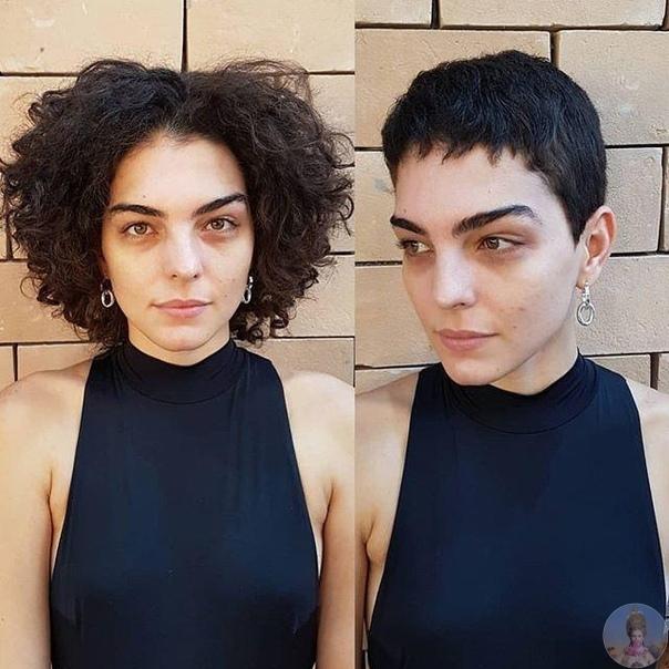 Порой стрижка меняет лицо до неузнаваемости. Собрали для вас девчонок, которые рискнули с длиной волос и не