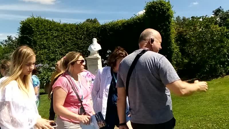 Место захоронения Леонардо да Винчи, Франция (08.08.2019)