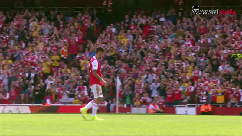Ceballos skills compilation - Arsenal 2 - 1 Burnley - Aug 17, 2019