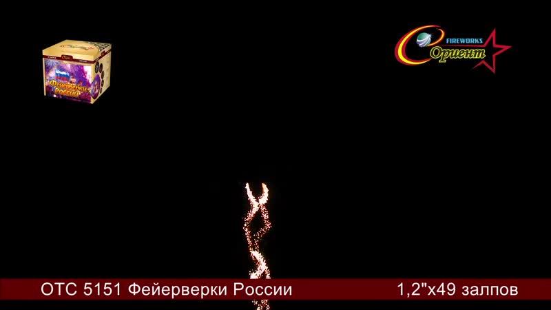 Бытовая пиротехника Фейерверки России