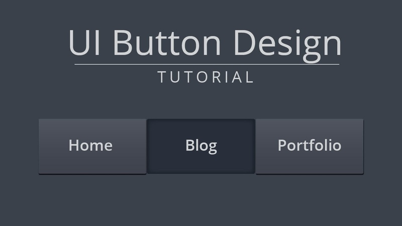 Mobile UI Home Button Design | Jack of Illustrator