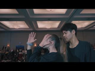 False Confidence - Noah Kahan; Choreography by Sean Lew ; Performers: Kaycee Rice & Sean Lew