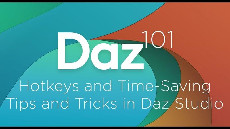 Daz 3D Tutorial Hotkeys and Time-Saving Tips and Tricks in Daz Studio
