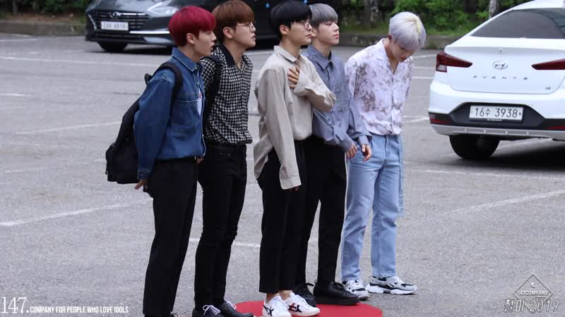 FANCAM | 210619 | A.C.E @ On the way to Music Bank