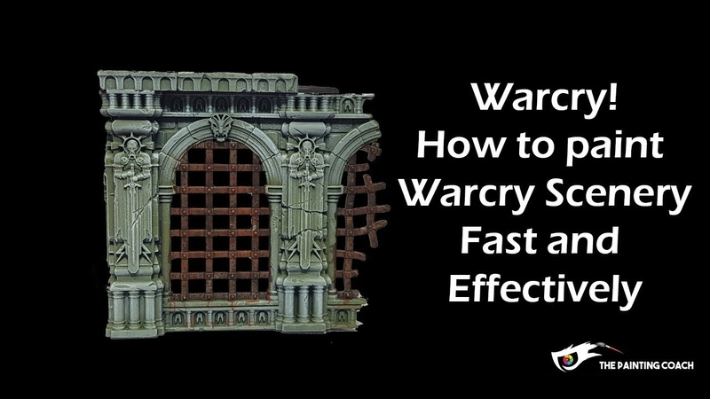 How to Paint Warcry Terrain and Scenery Fast