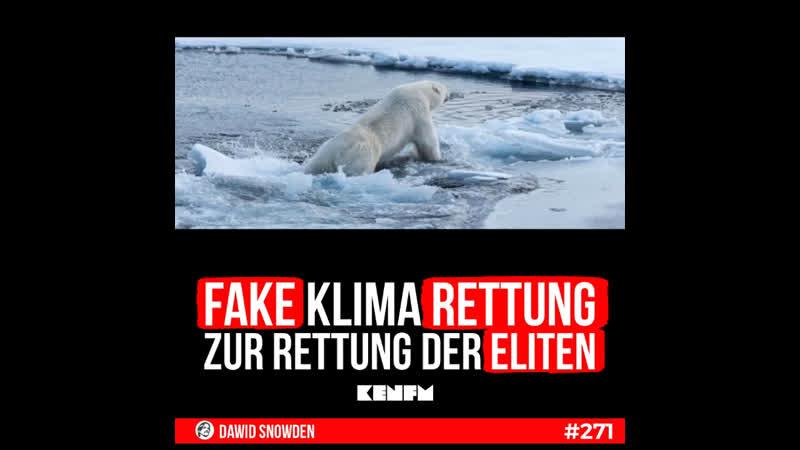 271 Fake Klima rettung zur Rettung der Eliten