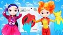 Куклы Сказочный Патруль— Одевалки, игры для девочек— Собираемся навечеринку!