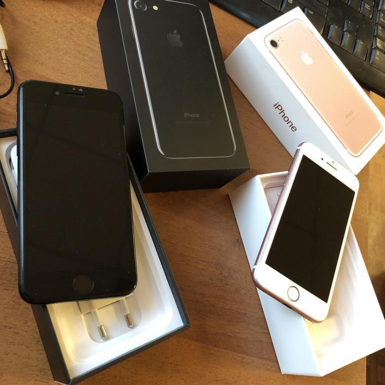 Купить два iPhone 7 по 5000 каждый. Черный и | Объявления Орска и Новотроицка №4065