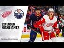 Detroit Red Wings vs Edmonton Oilers Oct.18, 2019 Game Highlights NHL 2019/20 Обзор матча