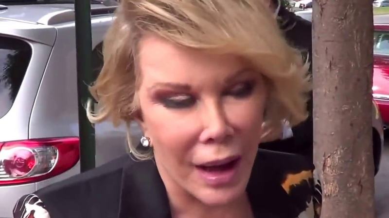 Joan Rivers • Obama is gay, Michelle is a tranny