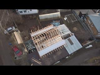 Видео обзор монтажа крыши под ключ