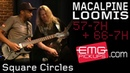 Tony MacAlpine and Jeff Loomis play Square Circles live on EMGtv (2015)