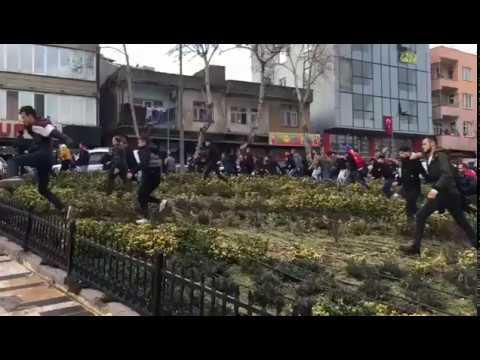 Gewaltsamen Ausschreitungen gegen syrische Geschäfte und Syrer in verschiedenen Städten der Türkei