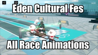 【CNパ二グレ Punishing: Gray Raven】Eden Cultural Fes ALL Racing Characters Compilation