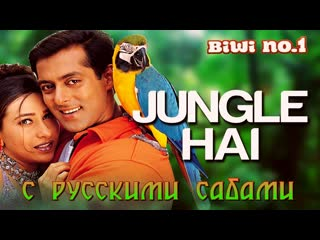 Jungle hai aadhi raat hai - video song ¦ biwi no. 1 ¦ salman khan  karisma kapoor ¦ anu malik (рус.суб.)