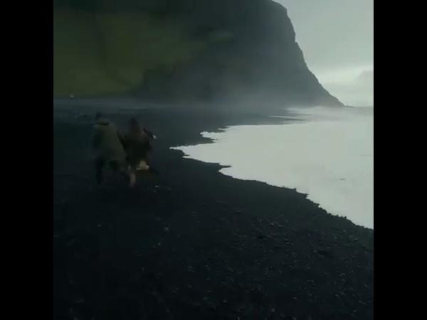 Путешествие на остров Итуруп, Россия, Курильская гряда, залив Касатка, Тихий океан,