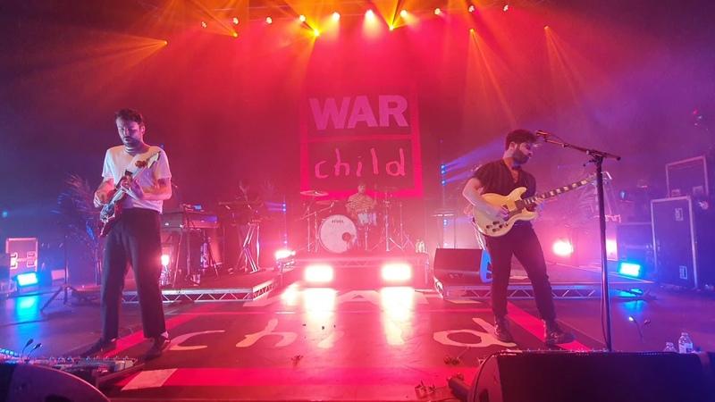 Foals - Neptune Live (first performance) @O2 Sheperds Bush Empire