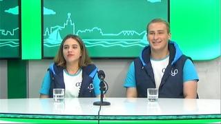 """Гости на Радио 2. Виктория Коновалова и Юрий Баранов, волонтёры форума """"Амур"""""""
