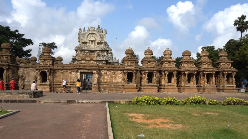 Kailasanathar Temple Kanchipuram India in 4K Ultra HD