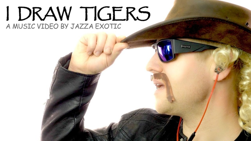 I Draw Tigers Music Video by Jazza Exotic