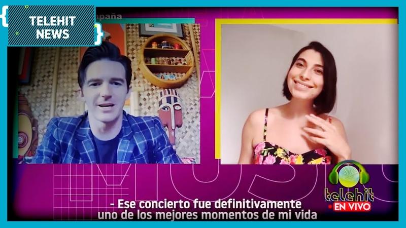 ¡Drake Bell dará concierto en México Entrevista exclusiva Telehit News