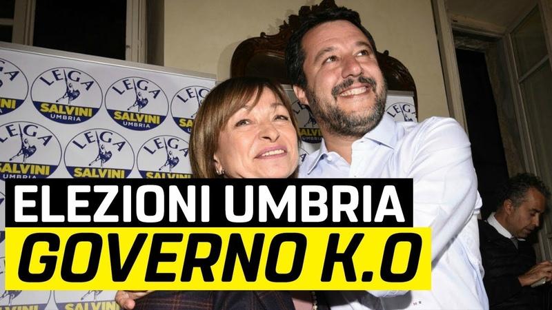 Dopo le elezioni un Umbria ha ragione Salvini: al voto!
