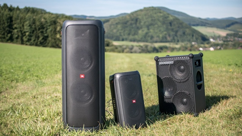 JBL Partybox 1000 outdoor sound demo