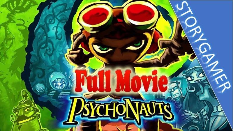 Psychonauts Full Movie All Cutscenes