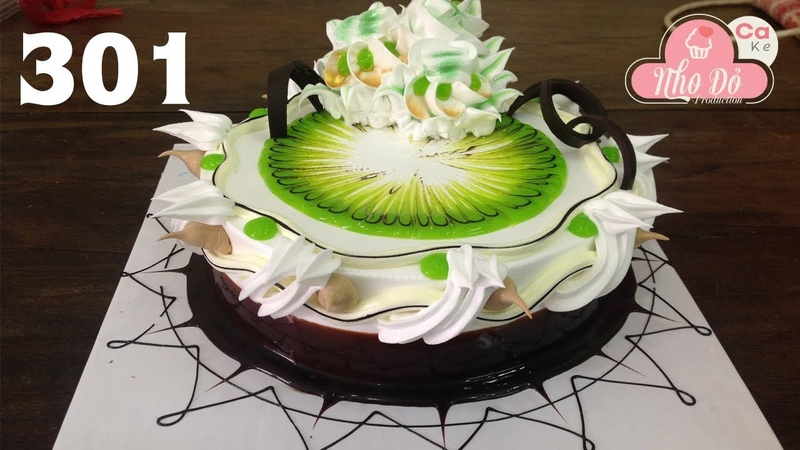 Cake decorate chocola fresh milk cream - bánh kem đẹp với socola ngon (301)