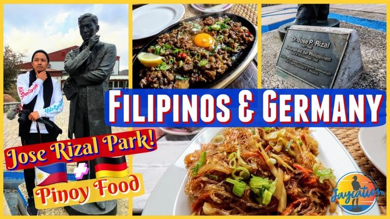 FILIPINOS IN GERMANY Jose Rizal Park Filipino Food in Frankfurt