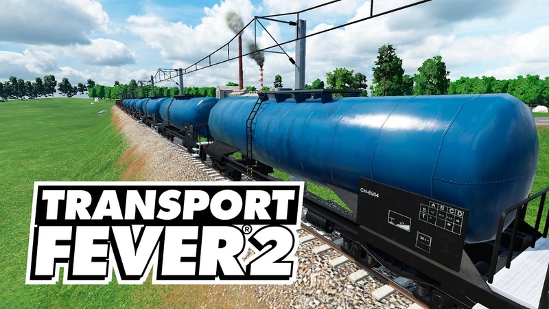 Transport Fever 2 Большая поставка нефти 16