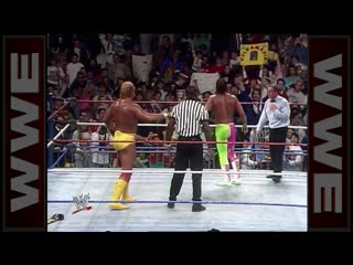 Hulk Hogan vs. Randy Savage - WWE Championship