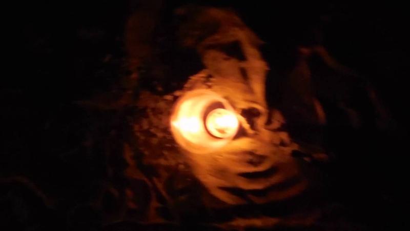 Огненная спираль намерений во Вратах Льва
