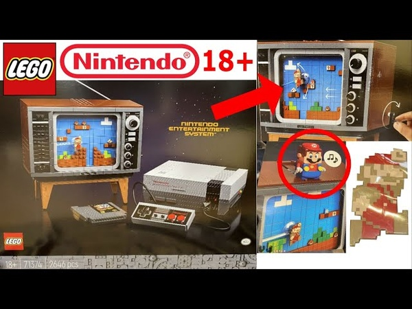 LEGO 71374 Nintendo Entertainment System NES 18 set