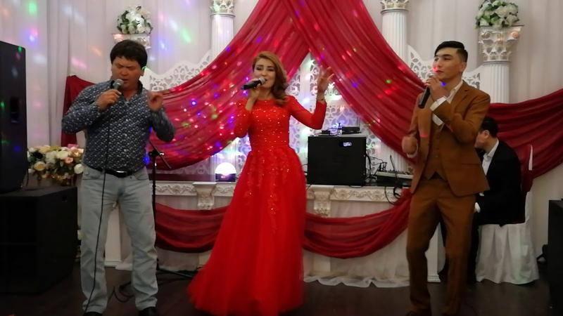 Москва Тамада борборунун мучосу Айтолкун Сапарова Дима Пазылов жана Биз тобу