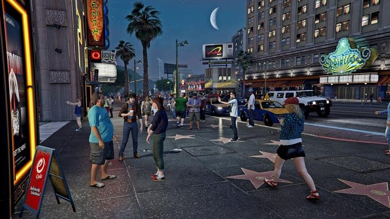 Никогда не поздно начать новую жизнь GTA V Online RP
