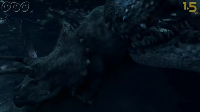 【恐竜CG】最強恐竜ティラノサウルスは夜の狩りもすごかった!【NHK恐竜超世界2019×1.5ch】Japanese dinosaurs CG (1)