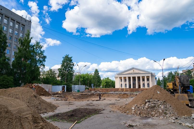 Ухта комфортная: скейт-парк, обновлённый фонтан, новые бордюры и дороги, изображение №9